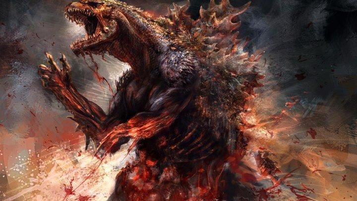 Годзилла: Возрождение . 2016 ужасы, фантастика, боевик, драма, приключения