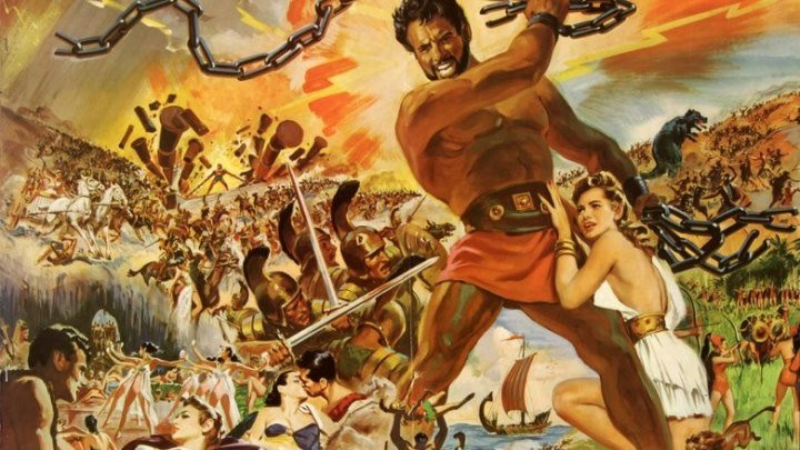Подвиги Геракла (приключенческий фэнтези со Стивом Ривзом, хит советского кинопроката) | Италия-Испания, 1957