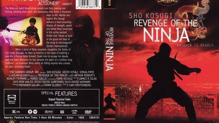 Месть ниндзя HD(боевик, триллер, драма)1983
