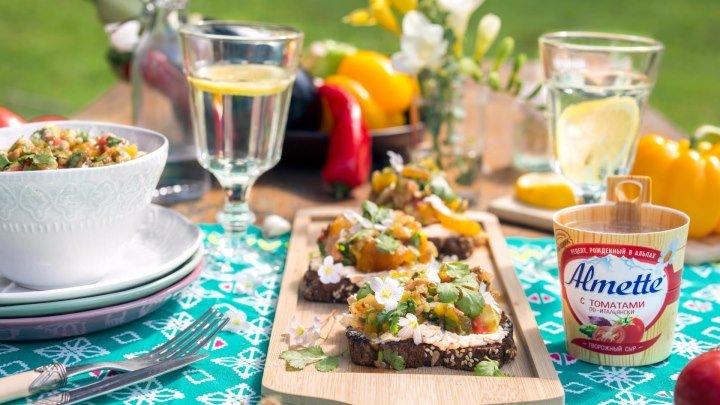 Рецепты на гриле от Almette и «Утконос»