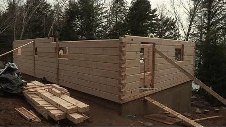 Американский сруб. Как строят деревянные дома в Северной Америке