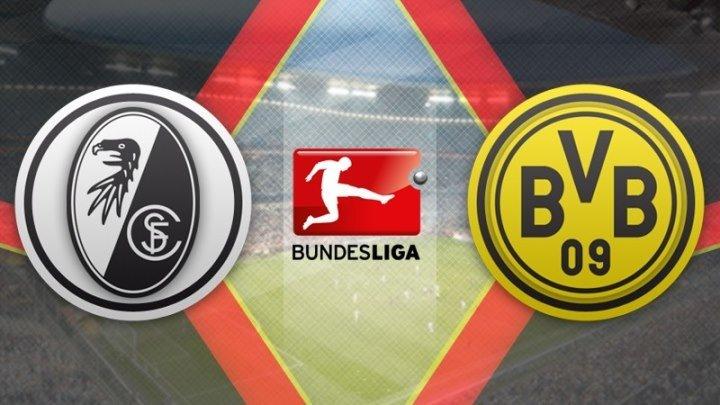 Фрайбург 0:0 Боруссия Дортмунд | Германия чемпионати2017/18 | 3-тур | Видеошарх
