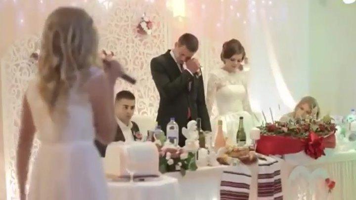 ТРОГАТЕЛЬНО ДО СЛЁЗ!!! - Сестра поздравляет брата с днем свадьбы