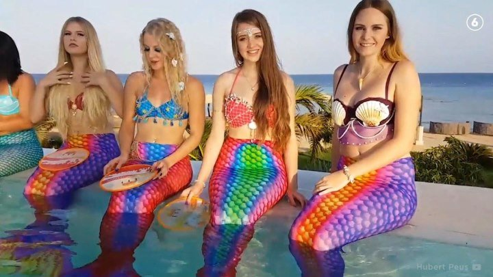 В Великобритании прошел конкурс красоты среди русалок!
