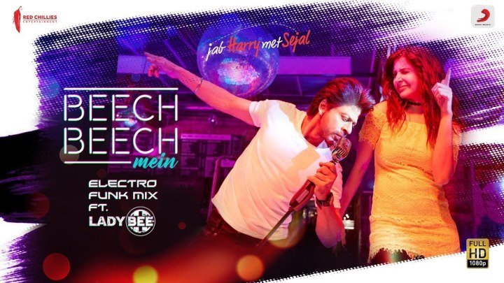 Ремикс на песню Beech Beech Mein - Шахрукх Кхан и Анушка Шарма