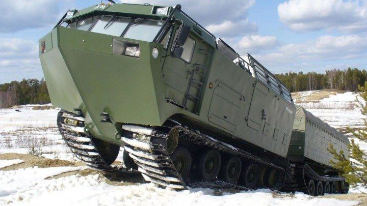 Самый крутой вездеход ДТ-30 Витязь (The best Russian king of the road)