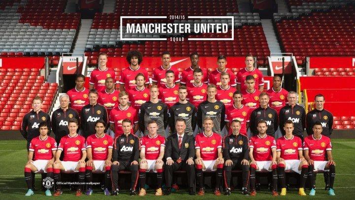 Icons. Big Star Profiles - Manchester United / Манчерстер Юнайтед