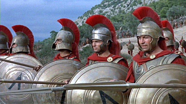 300 спартанцев (1962) Военный, драма (история)