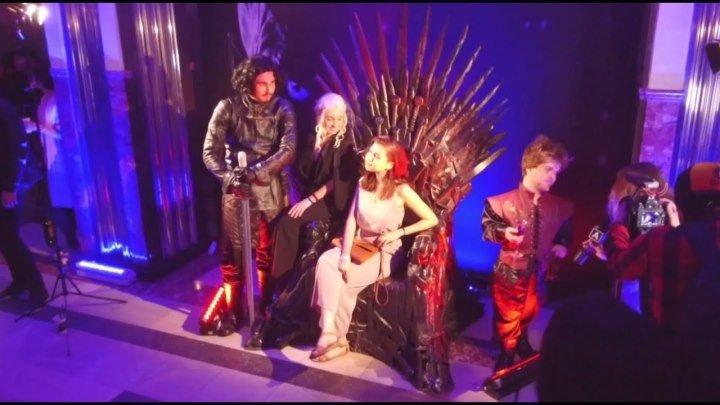 «Игра престолов» в московском подземелье: в метро показали первый эпизод седьмого сезона