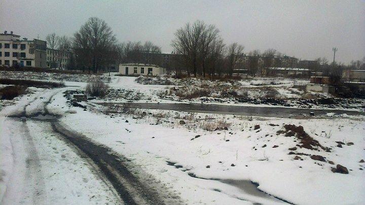 Городок , что у реки .../ п.Красногорский Есильский район .