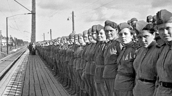 Гимн героизму русской женщины! (Женщины войны)