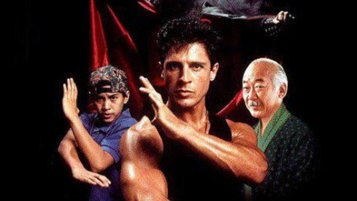 Американский ниндзя 5 (боевик с восточными единоборствами с Дэвидом Брэдли и Пэтом Морита) | США, 1993