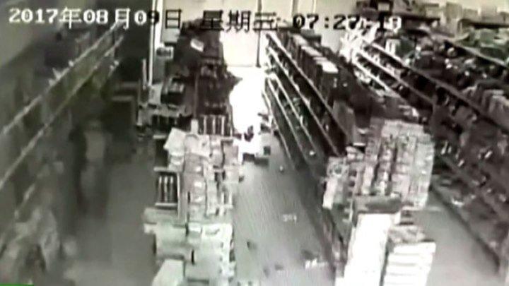 Землетрясение в Китае глазами очевидцев