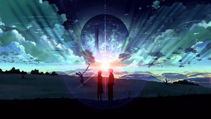 Голос далекой звезды (Япония 2003 HD) Драма, Фантастика, Романтика, Аниме