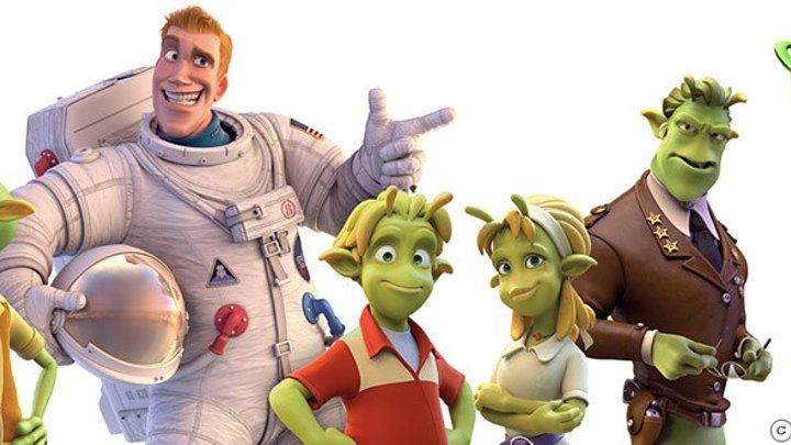 Планета 51 (2009) Мультфильм Приключения, Семейный, Фэнтези