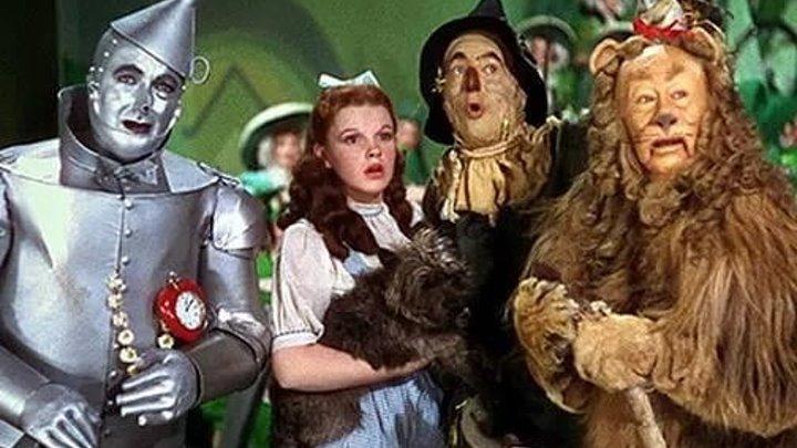 Волшебник страны ОЗ - (Джуди Гарлэнд, сказка) - 1939г США (полностью дублированный)