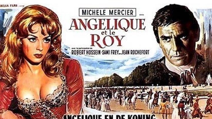 Анжелика -3 //Анжелика и Король HD(1966) 720p.Мелодрама,Приключения