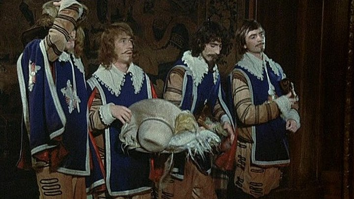 Четверо против кардинала (1974)