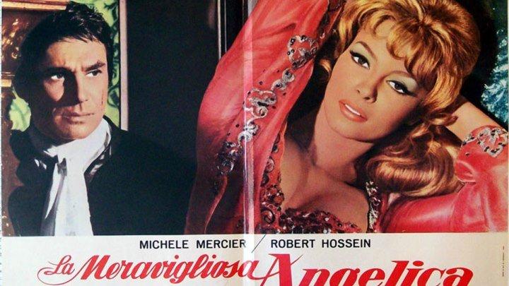 Анжелика -4 //Неукротимая Анжелика HD(1967) 1O8Op.Приключения