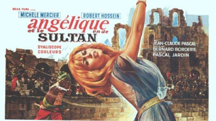 Анжелика -5 //Анжелика и Султан HD(1968) 1O8Op.Приключения,Мелодрама