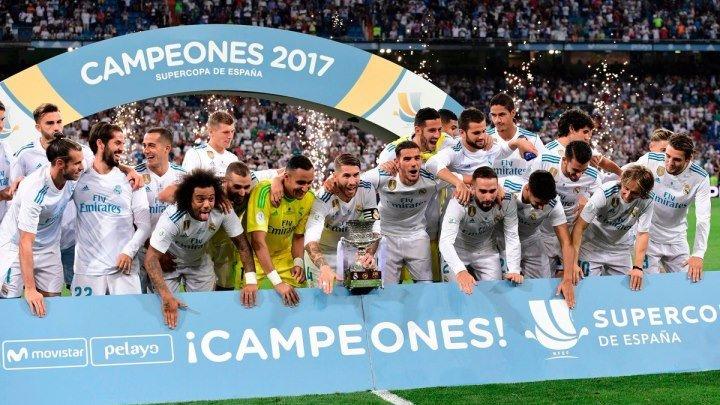 «Реал Мадрид» обладатель Суперкубка Испании 2017! 720 НD