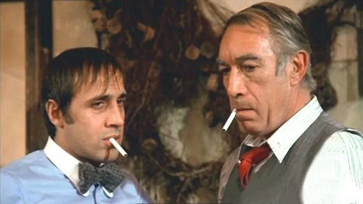 Блеф / Bluff - (А.Челентано, Э.Куинн, комедия) - 1976г (дублированный)
