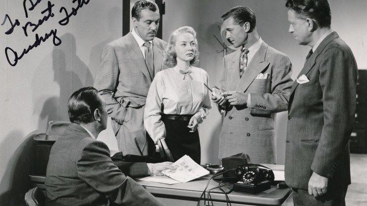 FBI Girl 1951 - Audrey Totter, George Brent, Cesar Romero, Raymond Burr