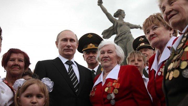 За нами Путин и Сталинград!