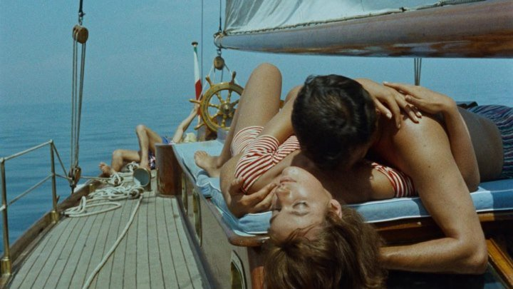 На Ярком Солнце (Италия, Франция 1960 HD) Триллер, Криминал, Драма (Ален Делон)