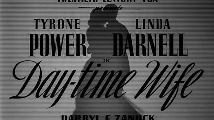 Day-Time Wife (1939)   Full Movie   w/ Tyrone Power, Linda Darnell, Warren William, Binnie Barnes, Joan Davis