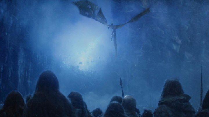 Игра престолов 7 сезон 7 серия Армия мертвых Разрушение стены/ Game of Thrones (2017) HD1080p | Amedia