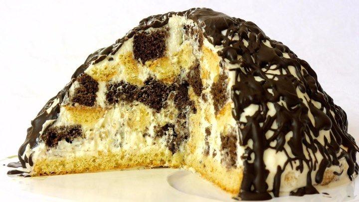 """Торт """"Панчо"""". Пошаговый рецепт очень простого и вкусного торта."""