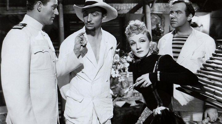 Seven Sinners 1940 - Marlene Dietrich, John Wayne, Broderick Crawford, Albert Dekker, Mischa Auer