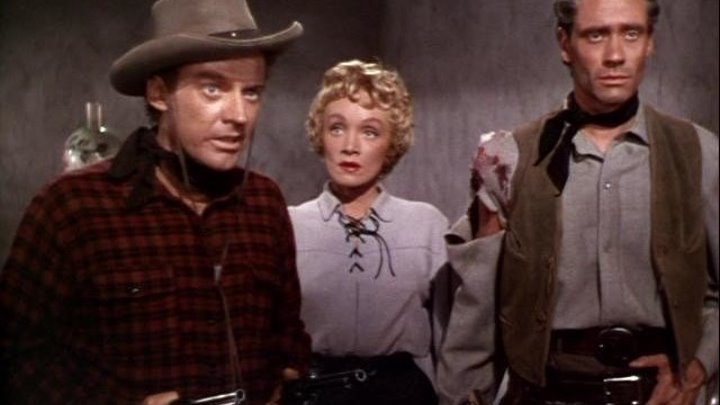 Rancho Notorious 1952 - Marlene Dietrich, Arthur Kennedy, Mel Ferrer, George Reeves