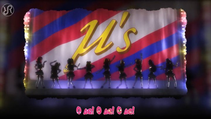 Love Live! [No Brand Girls] µ's RUS song #cover