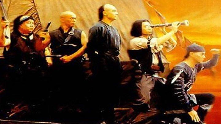 ОДНАЖДЫ В КИТАЕ -5 HD(1994) 1O8Op.Боевые искусства,Исторический