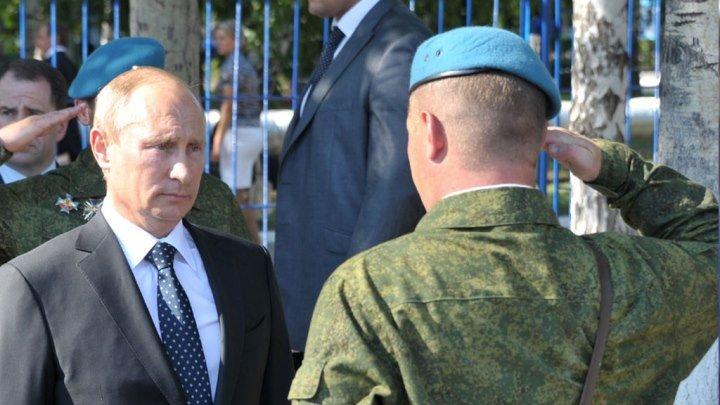 """Путин поздравил """"крылатую пехоту"""" с праздником!"""