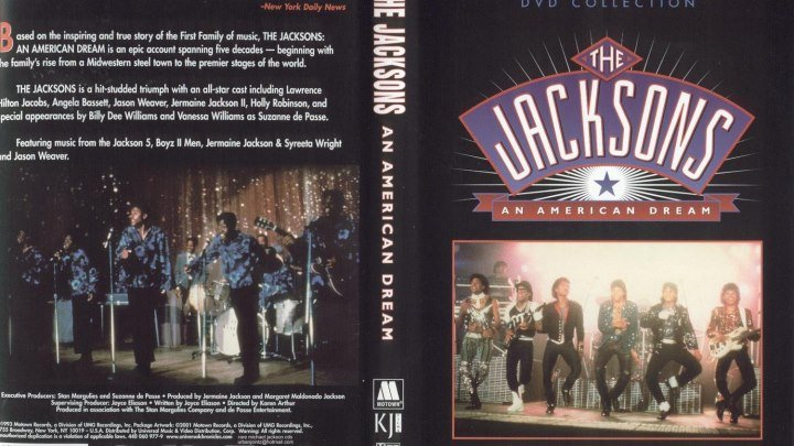"1-Серия Х/Ф "" Джексоны: Американская мечта / The Jacksons: An American Dream "" (1992) США. Жанр: драма, биография, музыка"