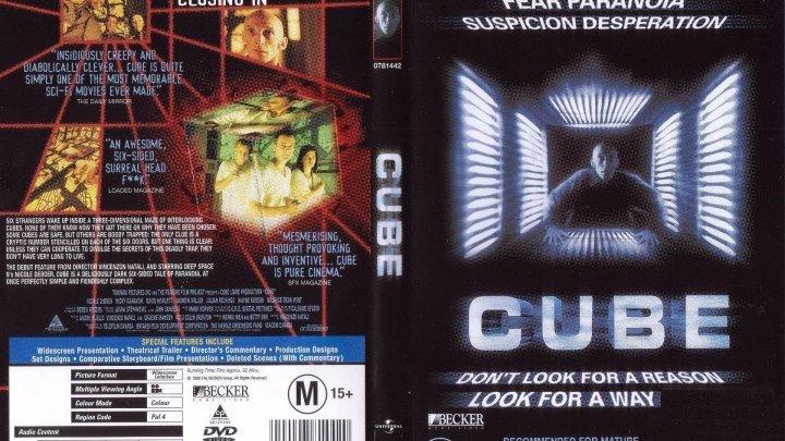 Куб (1997)Ужасы,Канада.