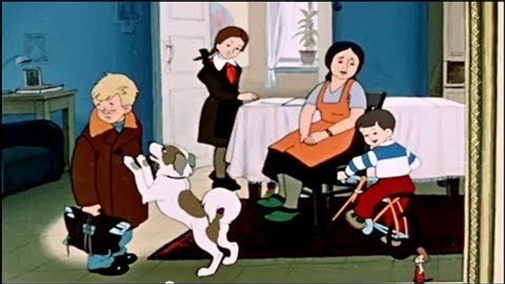 «Опять двойка» (СССР 1957 HD) Мультфильм, короткометражка