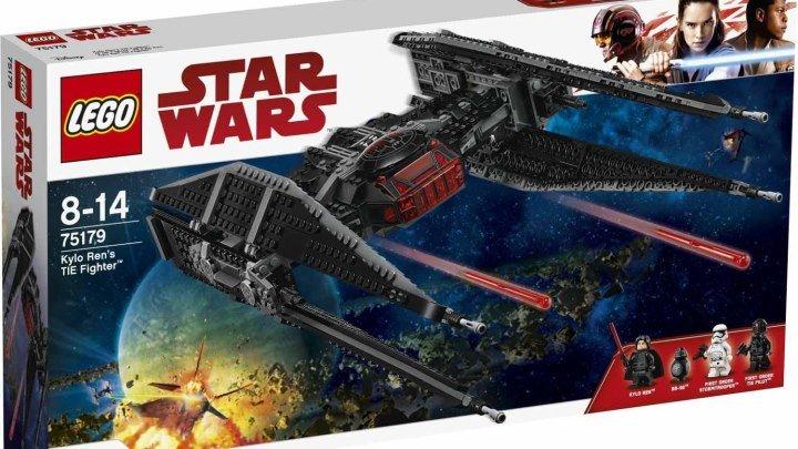 LEGO Star Wars Последние Джедаи. Кайло Рен и Истребитель СИД Обзор набора 75179