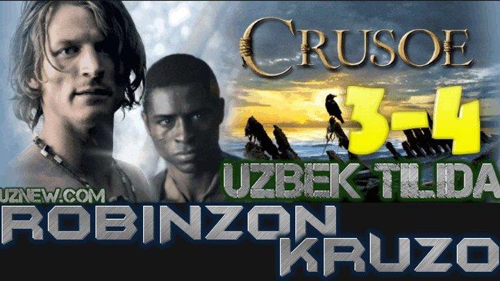 Robinzon Kruzo 3,4 Qism (Serial Uzbek tilida) HD