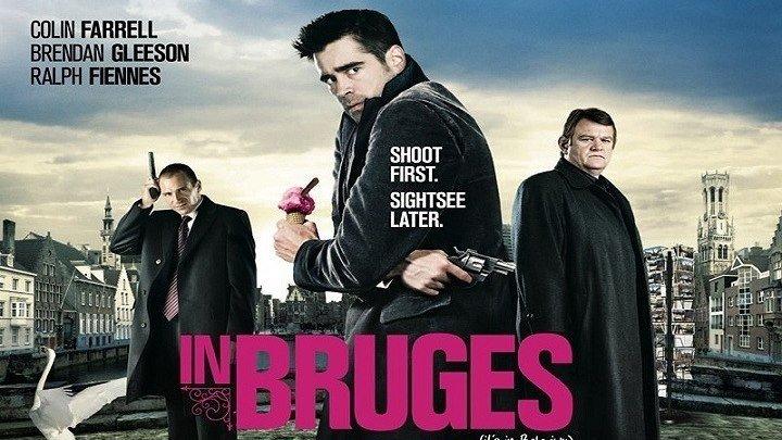 Залечь на дно в Брюгге HD(2008) 1080p.Криминал,Триллер