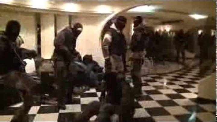 Танец русского спецназа перед захватом