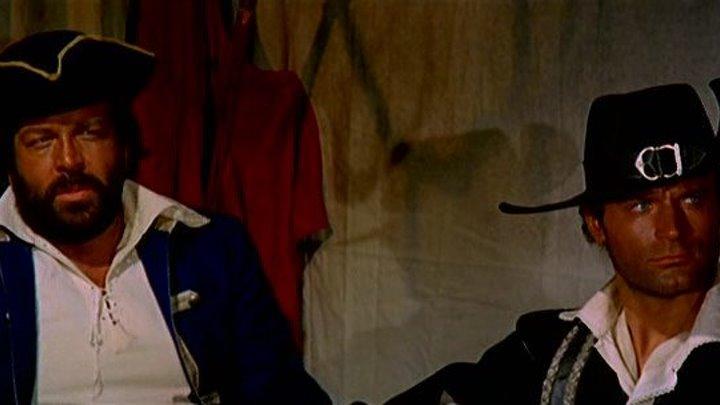 Черный корсар (Италия, Испания 1971) 16+ Боевик, Комедия, Приключения (о пиратах)