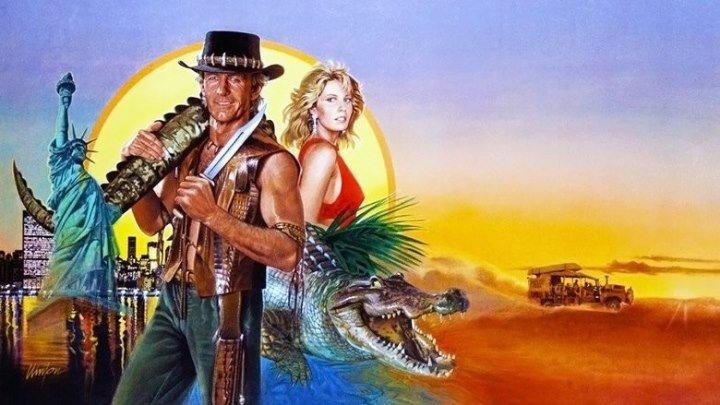 «Крокодил» Данди (приключенческая комедия с Полом Хоганом, хит советского кинопроката) | Австралия, 1986