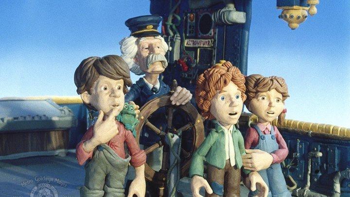 Приключения Марка Твена (семейный анимационный приключенческий фэнтези) | США, 1985