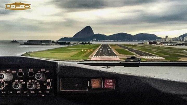 :: Вот почему мы летаем :: Пожалуй, одна из самых красивых посадок ::