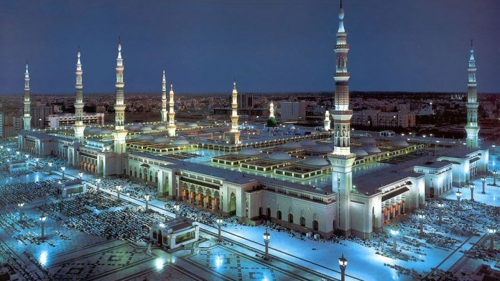 Масджид ан-Набави – мечеть, где похоронен пророк Мухаммед