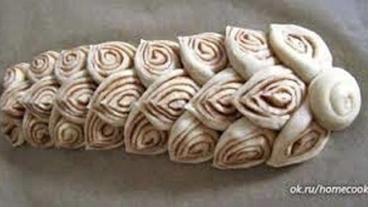 11 способов формирования булочек из дрожжевого теста! (рецепт под видео)